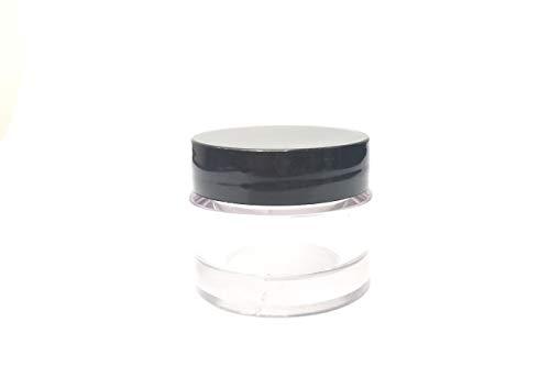 Pot cosmétique PET 15ml Lot de 5pcs