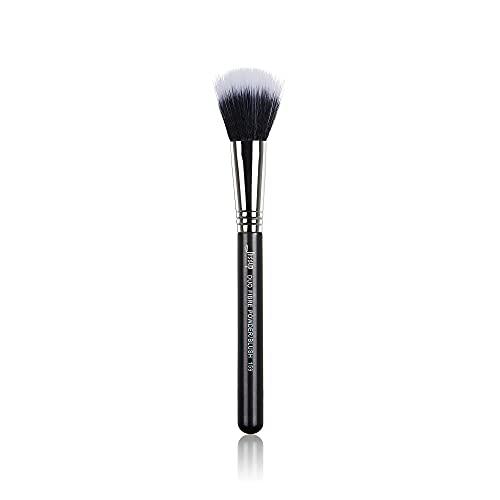Jessup Pinceaux de maquillage Pinceaux de base Kabuki Pinceaux simples Pinceaux professionnels pour le visage Pinceaux de maquillage Pinceaux cosmétiques Cheveux synthétiques Noir B071-159