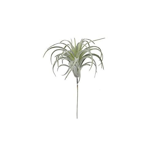 1 pieza de hierba de piña de aire verde plantas suculetas artificiales plantas colgantes hojas de ratán falso flor decoración del hogar guirnaldas DIY