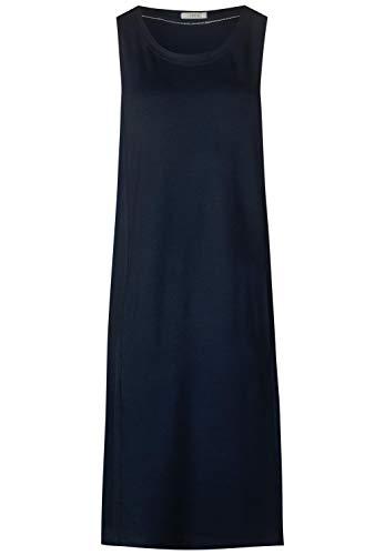 CECIL Damen 142489 Kleid, Blau (deep blue 10128), X-Large (Herstellergröße:XL)