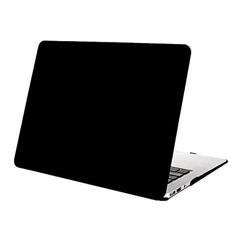 MOSISO Hülle Kompatibel mit MacBook Air 11 Zoll - Ultra Slim Hochwertige Plastik Hartschale Schutzhülle Snap Hülle Kompatibel mit MacBook Air 11 (A1370 / A1465), Schwarz