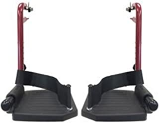 Foot Rest (Pair) for Nova 319R Transport Chair w/Serial #