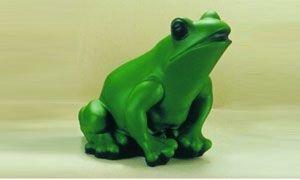 Frosch 18 cm 88011 Kunststoff-Figur mit Bewegungsmelder