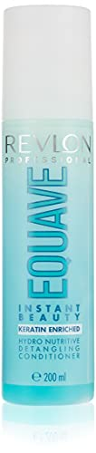 REVLON PROFESSIONAL Equave Soin Démêlant Instantané sans Rinçage 2 Phases Hydronutritif Hydratant Cheveux Secs, 200ml