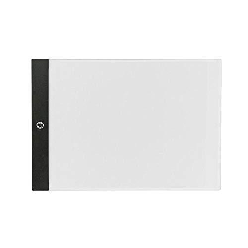 Tablero de dibujo LED Pintura Caja de luz Trazado Copia Atenuación continua A3 / A4 / A5 Tableta gráfica digital Tableta digital Tablero de mesa A4 3 atenuación