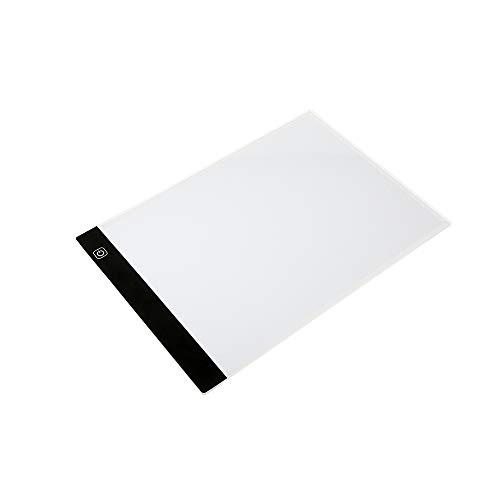 Docooler A4 LED schrijven schilderij licht box traceerplaat verlichting schetsen doordringend tabel instelbaar helderheid aanraken