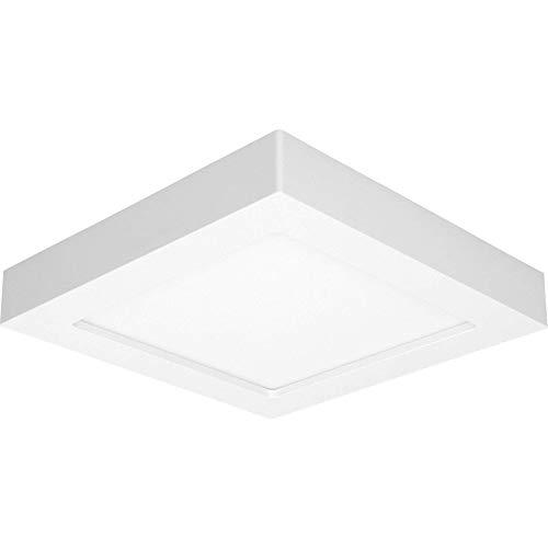 ORNO Leti Plafoniere LED a Soffitto Moderno 18W 3000K 22,7/22,7/3,5 Bianco Caldo