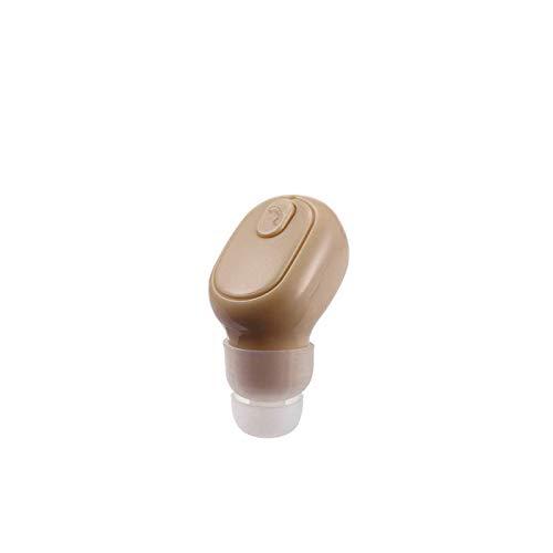 Auricolare senza fili con auricolare Bluetooth in-ear mini invisibile Bluetooth cuffie Business, con 6 ore (giallo)