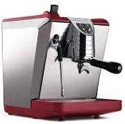 LaGondola Bundle – Máquina de café expreso Nuova Simonelli Oscar II Molinillo de café Grinta con temporizador y juego de 6 tazas de cristal fabricadas en Italia