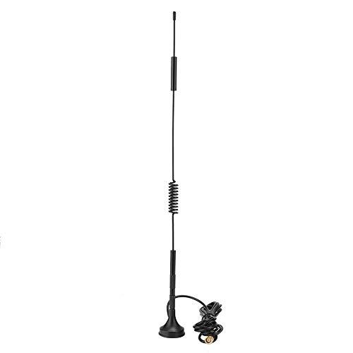 Kafuty Antenna Esterna LTE SMA Maschio 4G / 3G 18dBi Antenna Magnetica Esterna per pollone gsm ad Alto Guadagno 700-2700 MHz 36 cm(10m)