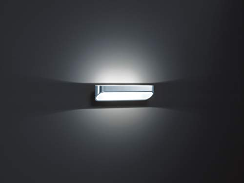 Helestra LED-Wandleuchte 1-flammig Onno Farbe: Aluminium poliert/Weiß matt