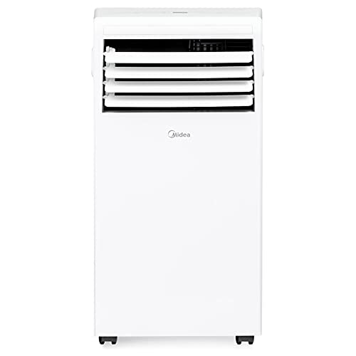 MIDEA MAP05R1WT 3-in-1 Portable Air Conditioner, Dehumidifier, Fan, for Rooms up to 150 sq ft, White