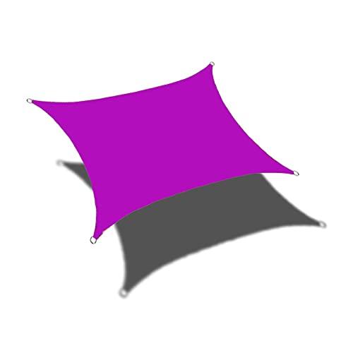 YUOPL Hochleistungs-Sonnenschutzsegel, quadratisches Sonnenschutzsegel, wasserdichtes Sonnenschutzsegel, Outdoor-Patio-Carport, Staub- und Winddicht für Garten, Hof, Pergola
