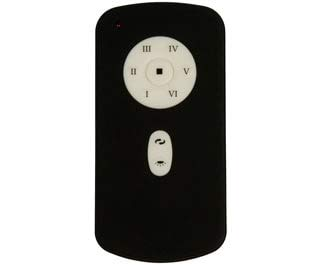 Craftmade DC-REMOTE, DC Motor Remote Control, Antique White, Black and White Inserts Included
