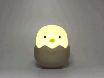 Kreative Eierschale Emotion Nachtlicht Becher Silikon Küken leuchten Nacht Fütterung Nachttischlampe Großhandel