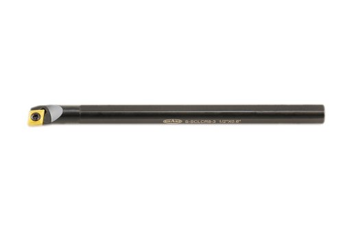 Shars Tool 1/2 inch Shank 7 inch Overall Length SCLCR Indexable Boring Bar for CCMT Insert 404-1962 P]