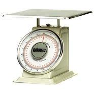 Rubbermaid Commercial Products FG10B60 Pelouze Heavy-Duty Mechanical Platform Receiving Scale, Dual-Read, 60 lb