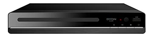 DYON Blade DVD Player mit HDMI und USB Anschluss D810014 Schwarz