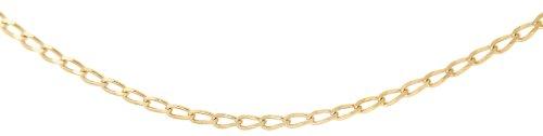 Carissima Gold Collar unisex de oro amarillo (9k)