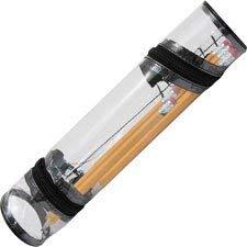 Advantus - Estuche para lápices, color negro y transparente