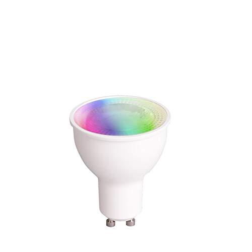 Müller Licht Système Déclairage Intelligent Avec Réflecteur Led Gu10 Couleurs Différentes 1800 6500 K Et Lumière Colorée Rgb