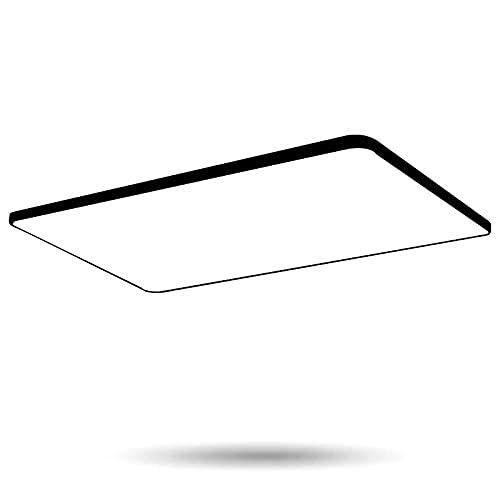 BABYCOW Iluminación de Techo LED Cuadrada ultradelgada Regulable sin escalonamientos con Control Remoto para la Sala de Estar Lámparas de Techo para la Sala Lámpara de Techo Moderna