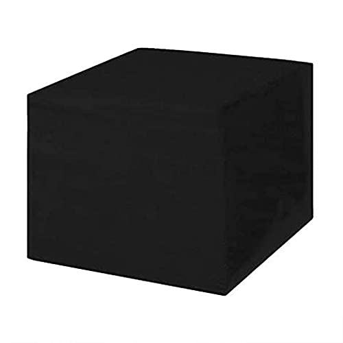 XIGG 210D Cubierta de Muebles de Patio 110x110x70cm, Funda para Muebles de Jardín, Cubierta de Exterior Impermeable, Funda de Silla para Muebles Al Aire Libre