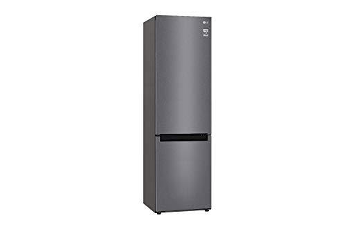 LG GBP62DSSFR Frigorifero Combinato Total No Frost con Congelatore, 384 L, 36 dB - Frigo con Freezer, Tecnologia FRESH Converter, Display LED Interno, Inox