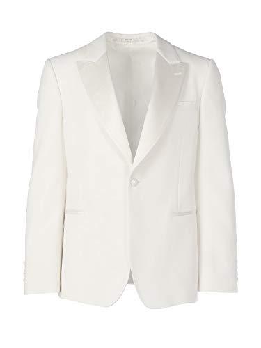 Luxury Fashion | Alexander Mcqueen Heren 594919QOU209015 Wit Wol Blazers | Lente-zomer 20