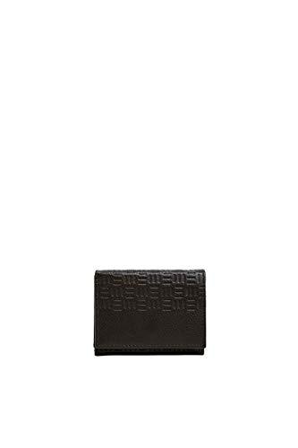 Esprit Accessoires heren F_foc Trifld Em portemonnee, bruin (Dark Brown), 1,5 x 9,5 x 12 cm