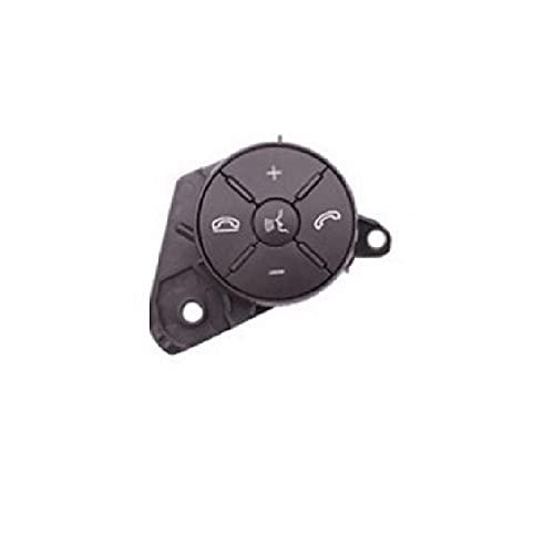 ADFIOSDO Botones de Control de Audio del botón de la Rueda del Volante multifunción Bluetooth Teléfono móvil/Ajuste para Benz W164 ML Clase W251 (Color : Grey Right)