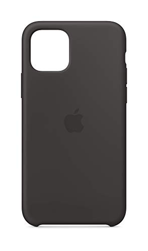 Apple Silicone Case (for iPhone 11 Pro) - Black