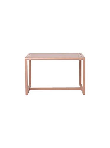 Ferm Living Little Architect kindertafel, eiken, roze, 76 cm