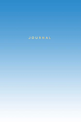 Journal: 120-Page Lined Notebook   Blue...