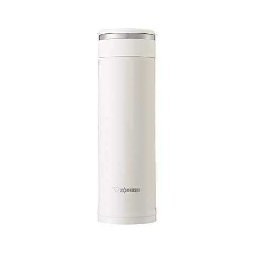 象印マホービン(ZOJIRUSHI) 水筒 ステンレス マグ ボトル 直飲み 軽量 保冷 保温 480ml ホワイト SM-JF48-WA