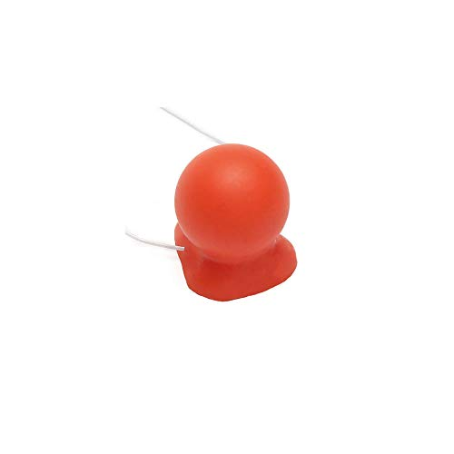 Red Clown Nose, Rubber Carnival honking Clown Nose with Elastic
