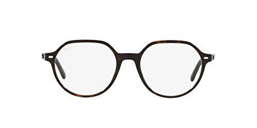 Ray-Ban 0RX5395 Gafas, HAVANA, 49 Unisex Adulto