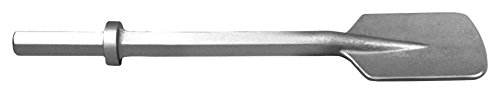 Champion Chisel, 1 by 4-1/4-Inch Hex Shank, Clay Spade - Designed for 30-40lb Class Pavement Breakers