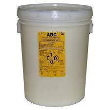 ABC Dry Chemical Powder 5 Gallon Bucket