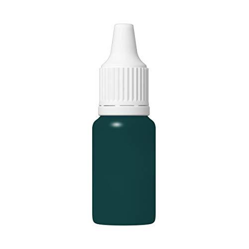 TFC Silikonfarbe I Farbpaste zum Einfärben von Silikon Kautschuk I in 33 Farben erhältlich I 500g, blau-grün