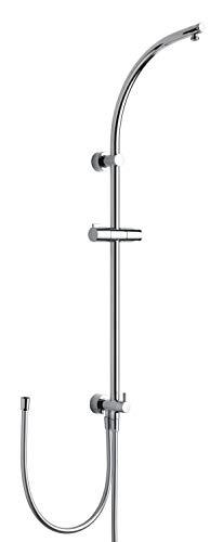 Nikles Duschsystem Techno m.Schlauch 150cm ohne Kopf-/Handbrause A65MS.00.000T05N NIKDSTEC