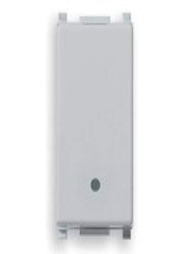Interruttore Vimar Plana Silver 1P 10Ax 14000.Sl