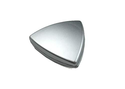 Dekomagnet - Gardinenmagnet – Magnetgriff - Magnetpin - Dreieck ca. 4 cm - starker Halt - chrom matt