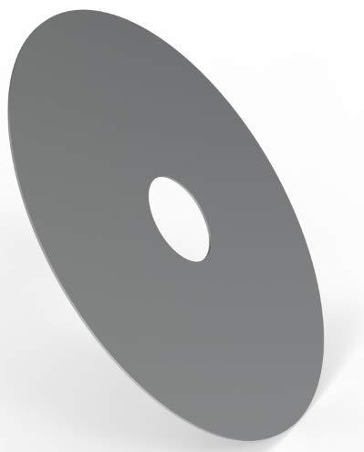 ELITE BBQ 5mm 80er Feuerplatte 80cm Feuerring Grillplatte Stahlplatte für Feuertonne Stahlfass Weber Rößle Napoleon Grill…