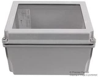 A1086CHSCFGW-Plastic Enclosure, IP66, NEMA 13, Junction Box, Fibreglass, IP66, NEMA 4, 4X, 12, 13, 254 mm