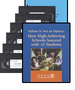 Failure Is Not an Option: How High-Achieving Schools Succeed With All Students (Video Kit) [VHS]