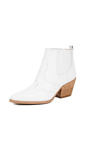 Sam Edelman Women's Winona Booties, White, 5 Medium US