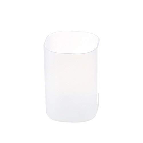 Bismarckber Boîte de rangement transparente pour crayons, rouges à lèvres, cosmétiques, pinceaux de maquillage