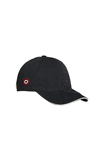 Aeronautica Militare Cappello da Baseball HA1046, Unisex, Nero, Cappellino, Cuffia