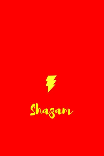 Shazam Notebook: 200 pages. 6x9